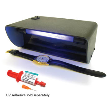 UV Lamp Cures Adhesives