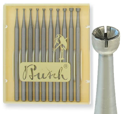 Busch Burs, available at Cas-Ker Co.