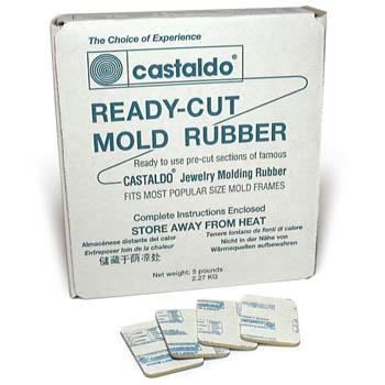 Castaldo Mold Rubber in Pre-Cut Sizes 5 LB White Label