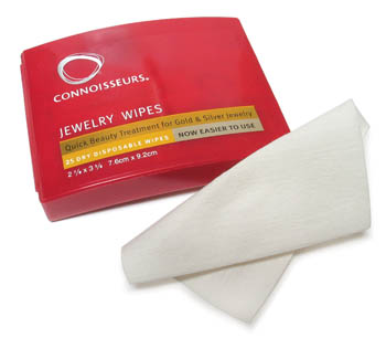 Jewelry Cleaning Wipes Connoisseurs 231.01850