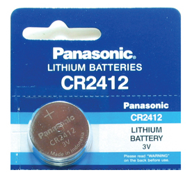 Panasonic Lithium Watch Battery 2412