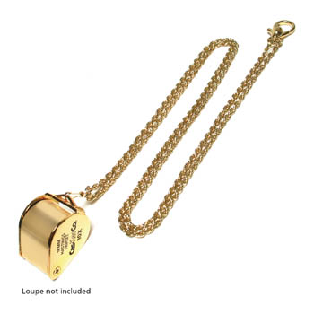 Loupe Neckchain Gold Rope