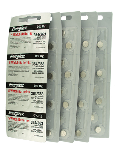 Watch Batteries 100 pack 364