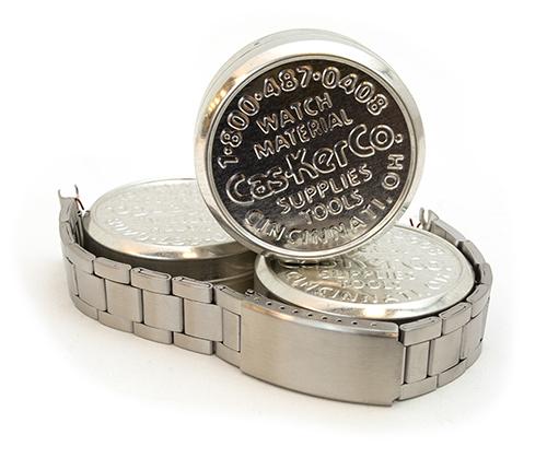 Metal Watch Bracelet from Cas-Ker Co.