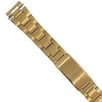 Yellow SS Link Watch Bracelet