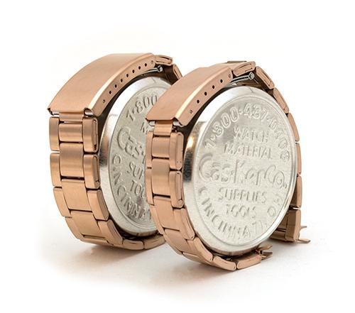 Rose Gold Link Watch Bracelets from Cas-Ker
