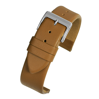 Watch Strap, Tan Leather W101