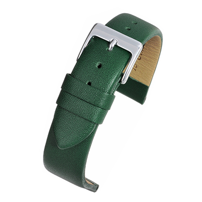 Green Leather Watch Strap W106