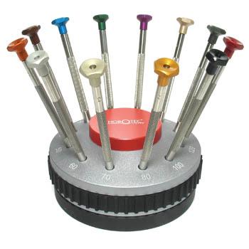 screwdrivers set of twelve horotec. Black Bedroom Furniture Sets. Home Design Ideas