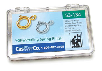 Jeweler's Findings | Jewelry Making Supplies | Spring Ring