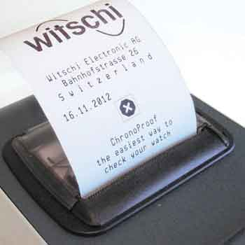 Printer Paper for Witschi ChronoProof� Tester