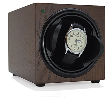 Sleek Watch Winder - Mahogany