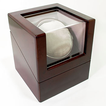 Cherry Wood Watch Winder from Cas-Ker