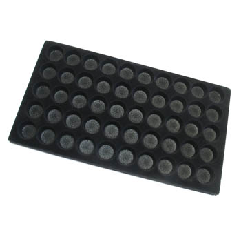 Tray Insert with Round Spaces