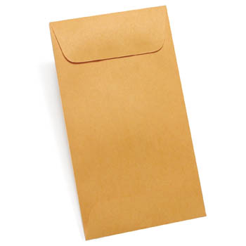 Envelope, Job & Coin Kraft #4