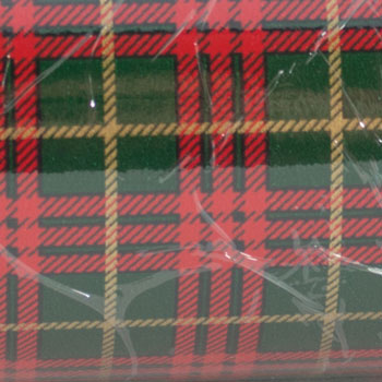Gift Wrap - Red and Green Tartan Plaid