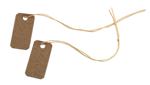 Eco Price Tags for Jewelry Sales