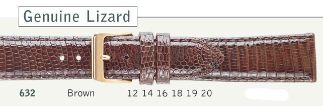 Genuine Lizard Watch Strap from Cas-Ker