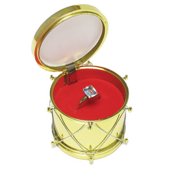 Cas-Ker Christmas Jewelry Novelty Box