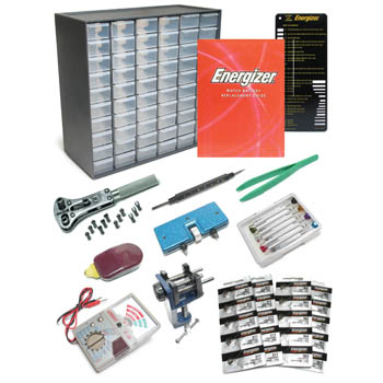 Battery Kit, Energizer Master Set