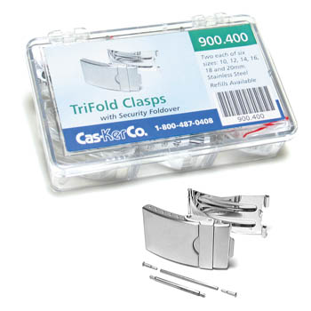 Tri Fold Clasp Assortment