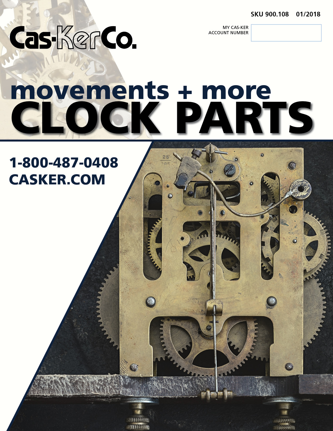 900.108 Cas-Ker Clocks Catalog