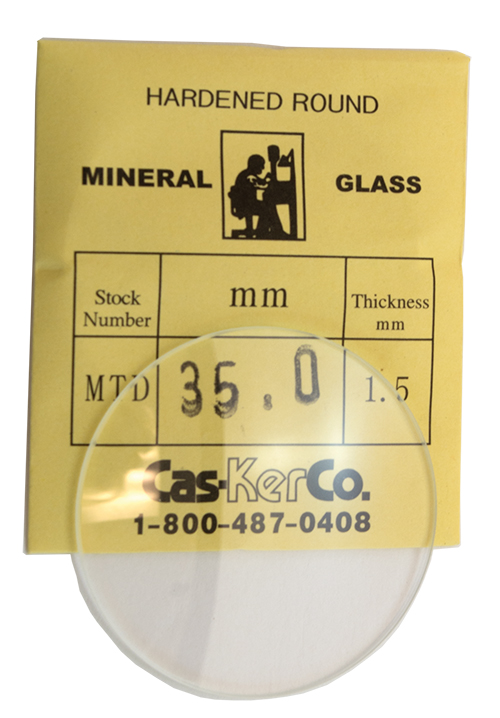 Cas-Ker Crystal for Watchmakers