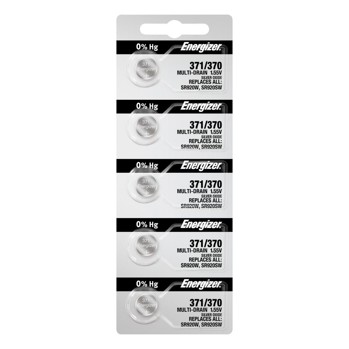 Energizer 371 5-pack