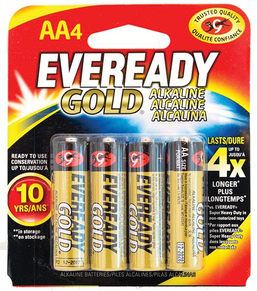 Get Eveready AA Batteries at Cas-Ker