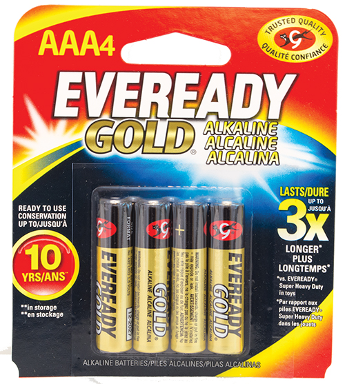 Get Eveready AAA Batteries from Cas-Ker