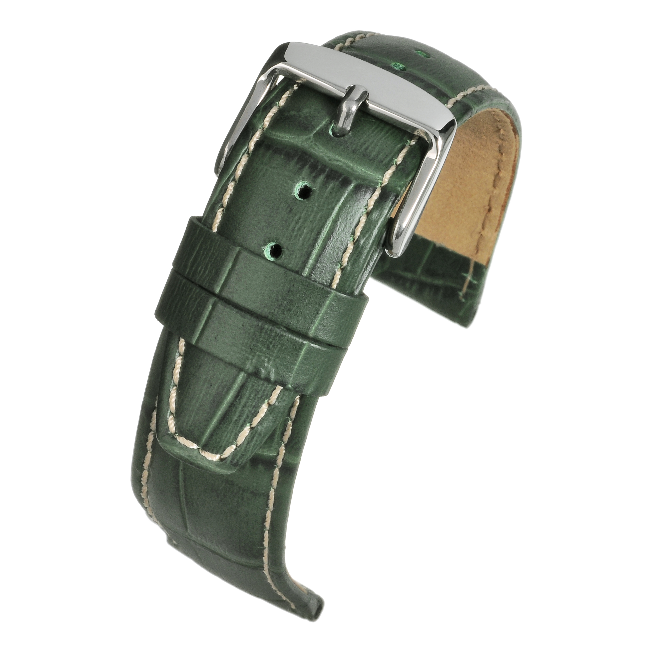 Green Gator Grain Watchstrap WH606