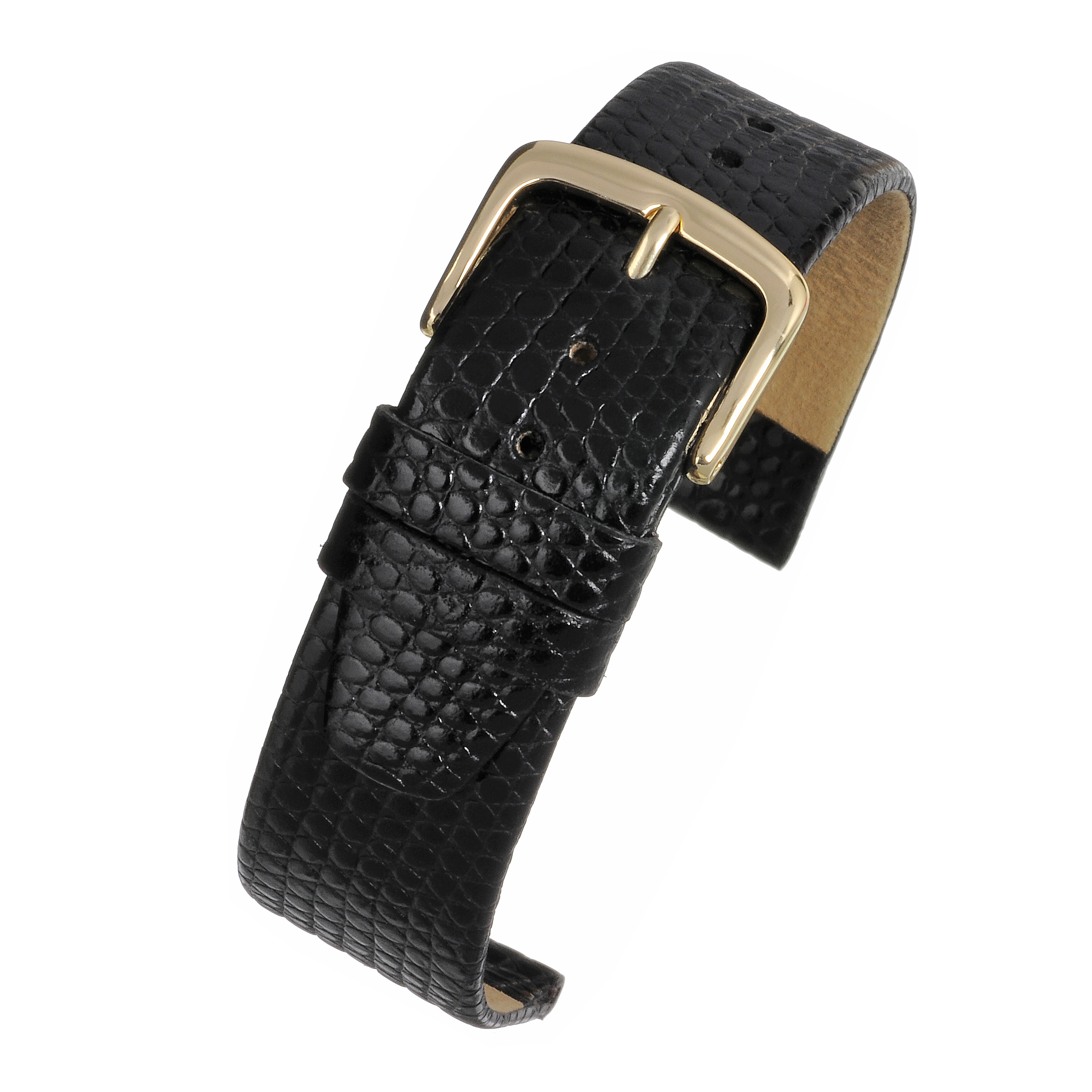 XL Lizard Grain Watchstrap WX400