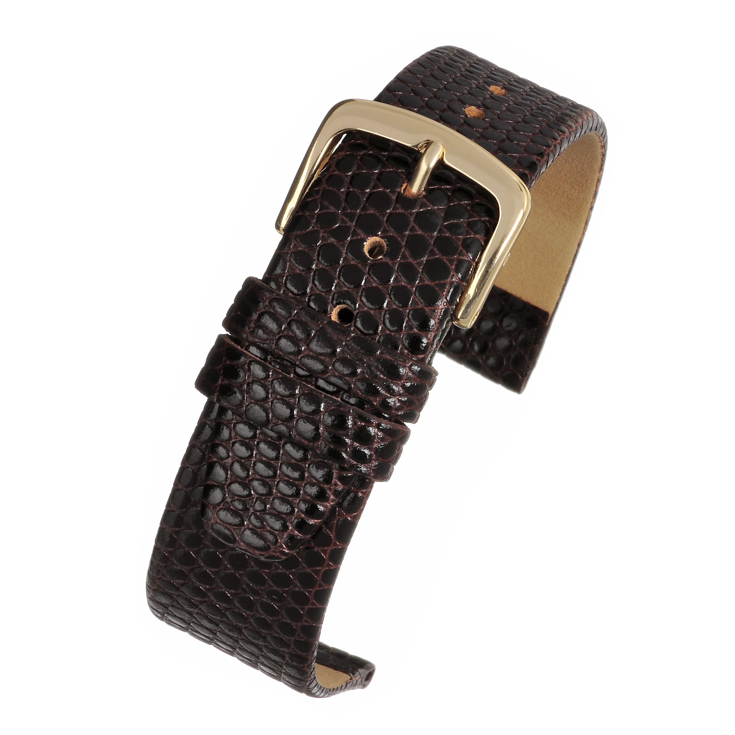 XL Lizard Grain Watchstrap WX401
