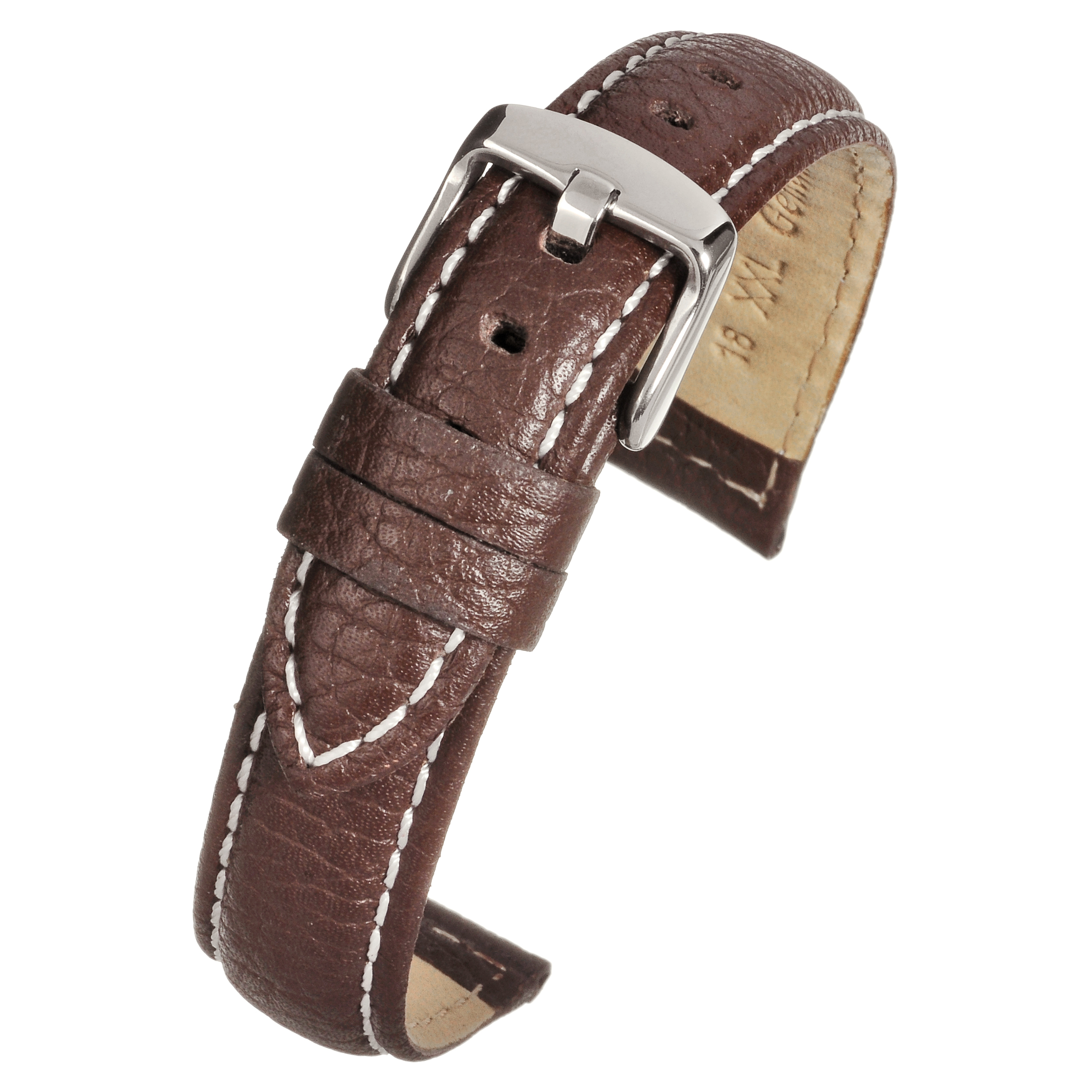 XXL Heavy Watch Strap Brown