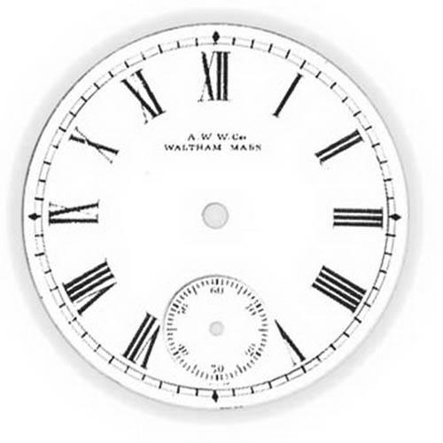 Waltham Watch Dial
