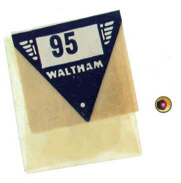 Waltham Pocket Watch Balance Jewels