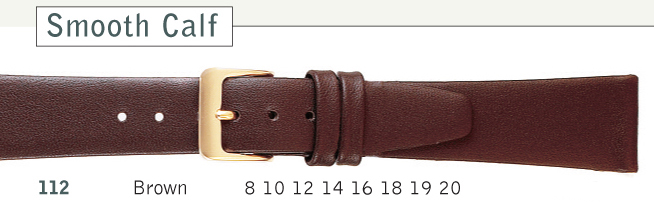 Brown Leather Watch Strap | Cas-Ker Co.