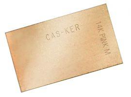 Rose Gold Solder Sheets from casker