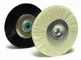 Natural Bristle Brush Wheels