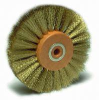 Crimped Brass Wire Brush Wheel