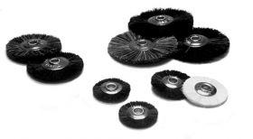 Thick Bristle Brush Wheels