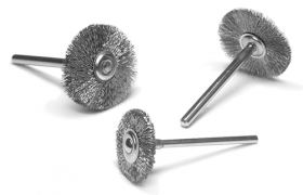 Dixcel Mini Steel Wire Brushes