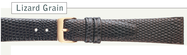 Lizard Grain Watch Strap