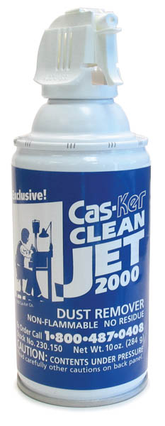 Dust Remover Spray Can by Cas-Ker CleanJet 230.150