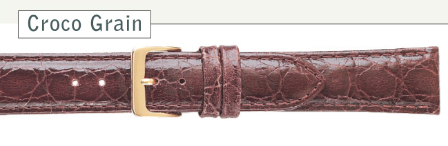 Croco Watch Straps | Cas-Ker