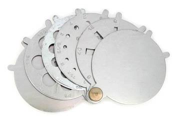 Aluminum Folding Stone Gauge