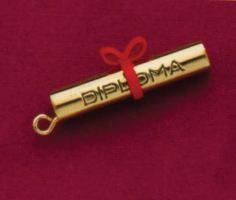 Diploma Jewelry Charm