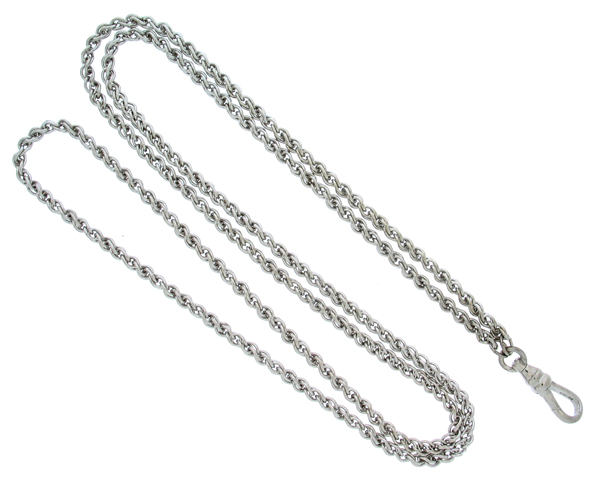 Pendant Watch Chain Rope Sterling