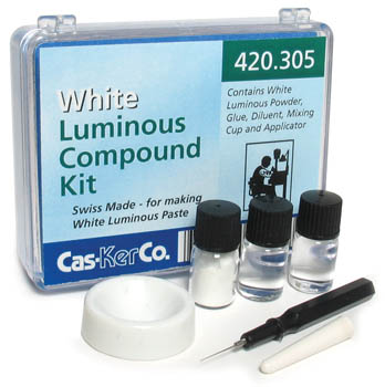 Luminous Paste Kit Cas-Ker White