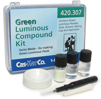 Luminous Paste Kit Cas-Ker Green